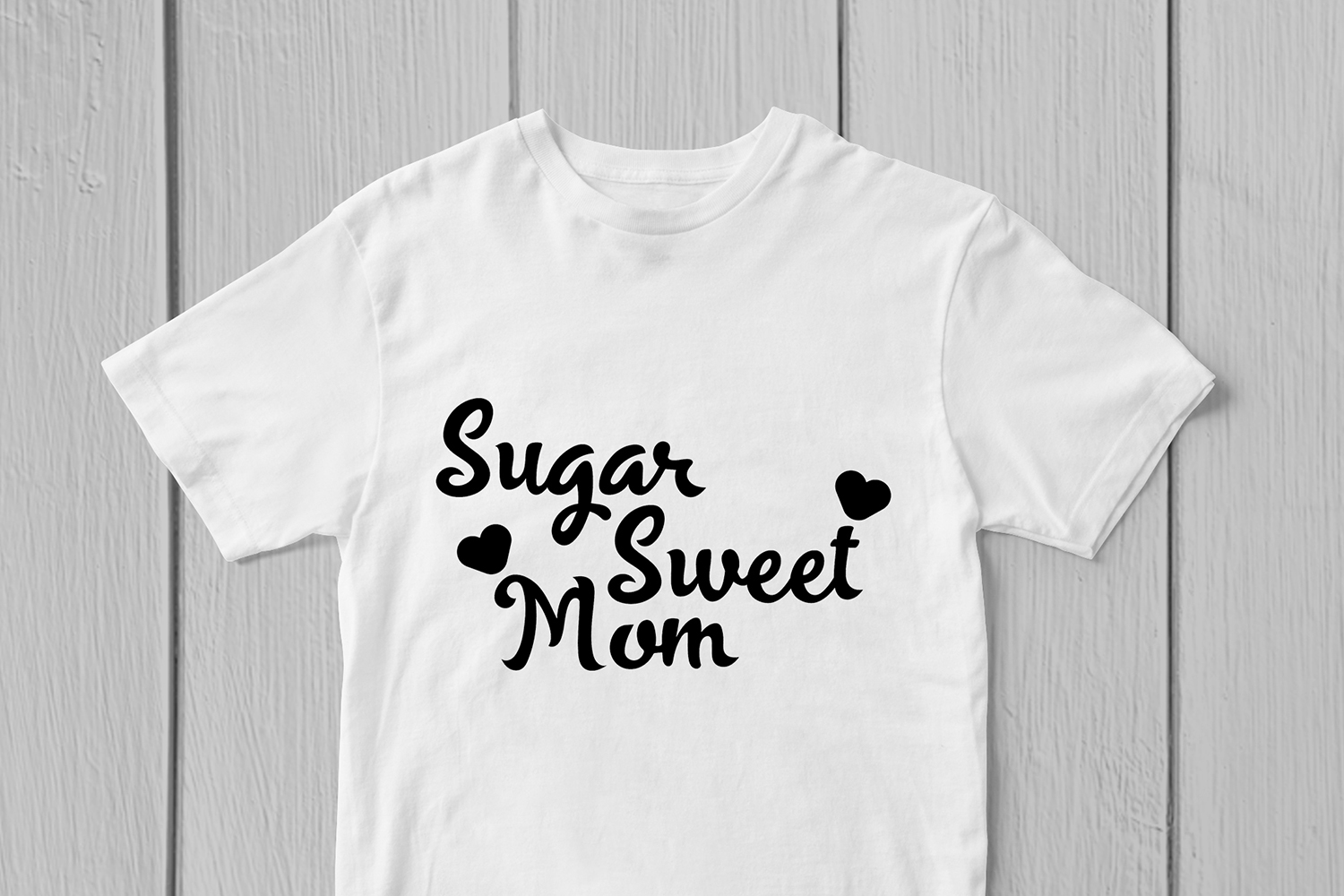 Sugar Sweet Mom - Mother SVG EPS DXF PNG Cutting Files example image 2