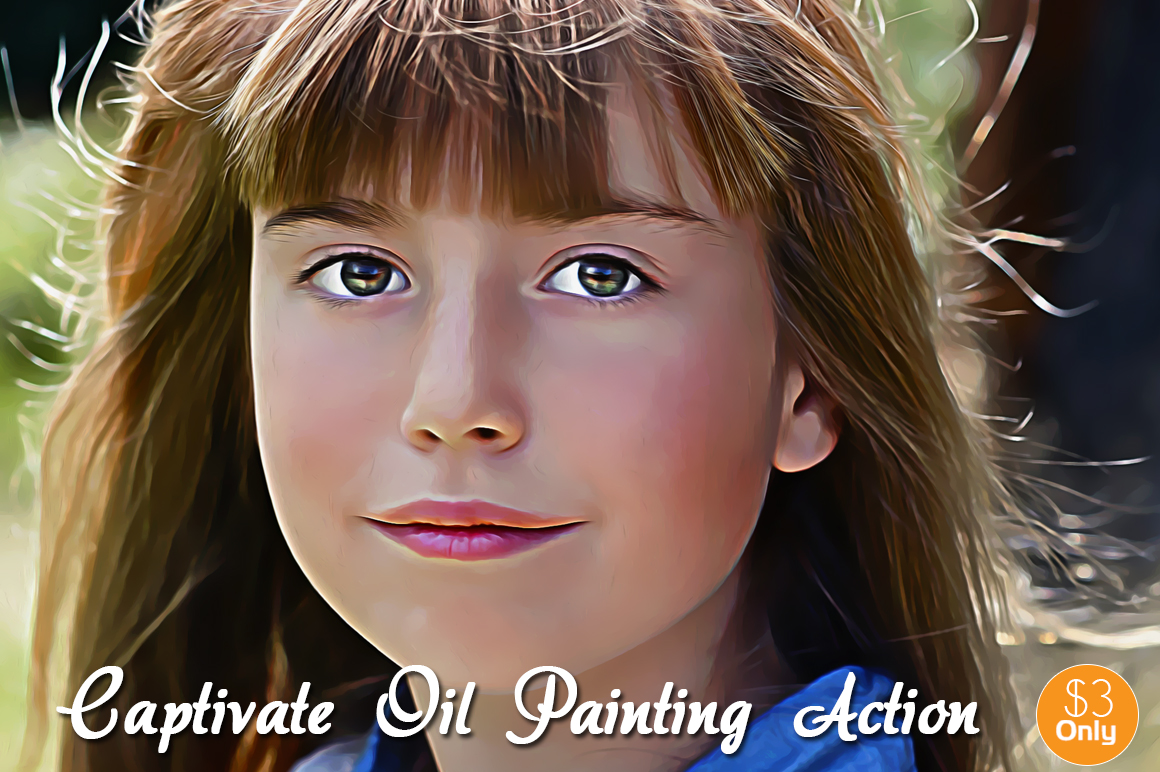 Captivate Oil Painting Action example image 3