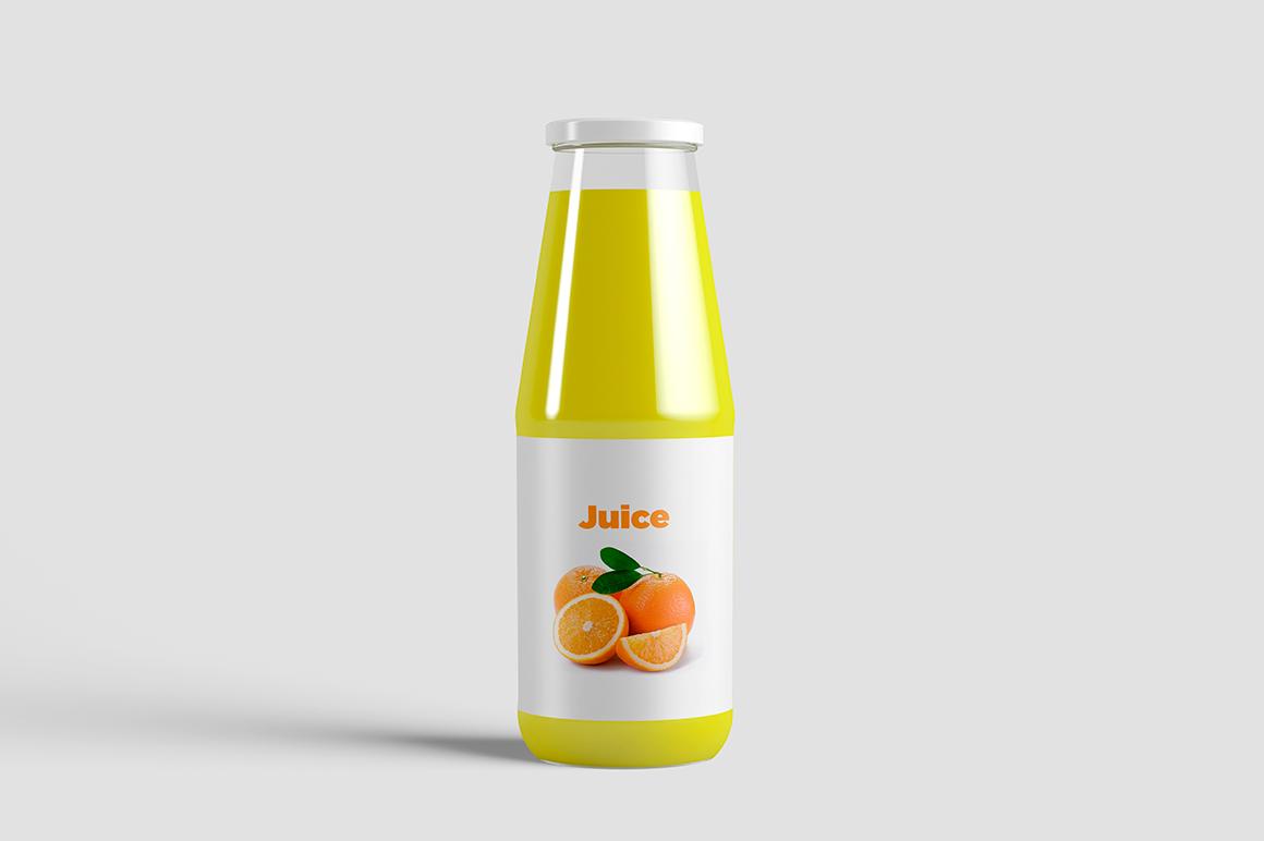 Juice Bottle Mock-Up example image 2
