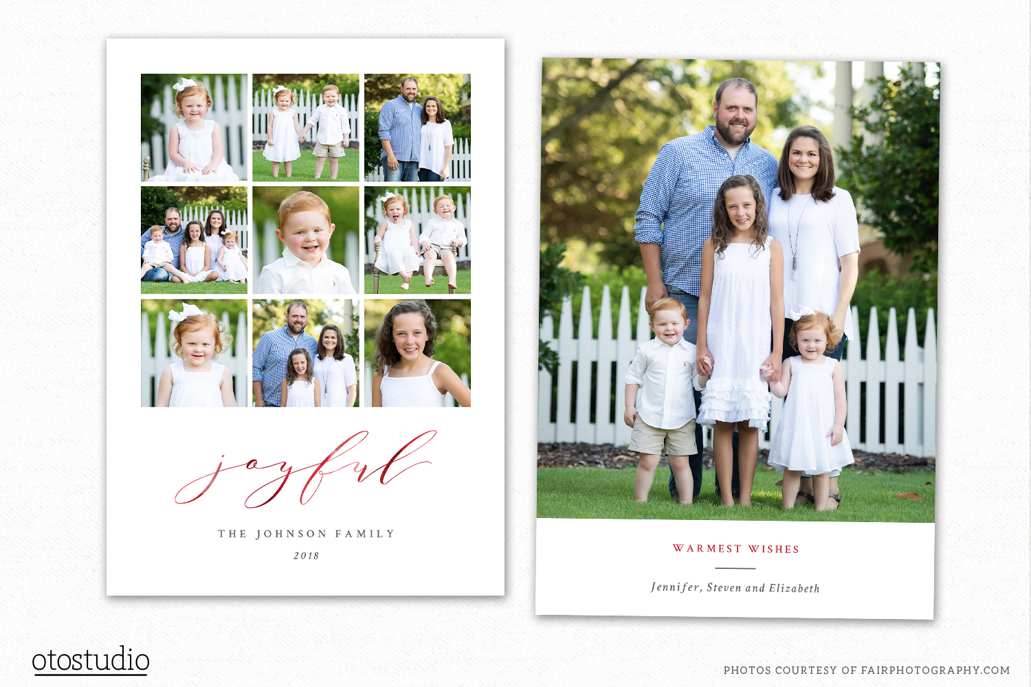 Christmas Card Template for Photographers CC241 example image 1