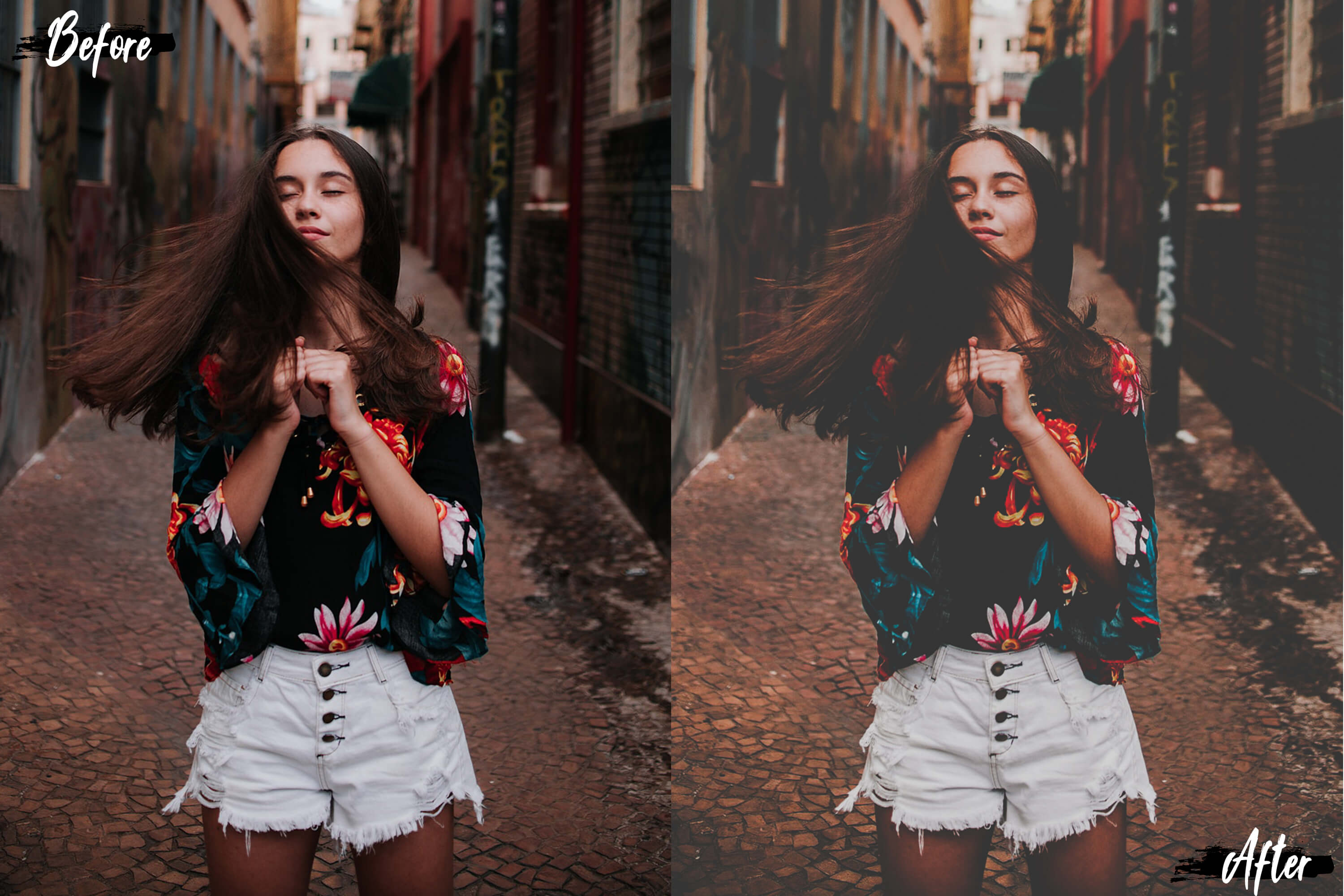Neo Matte Theme Color grading Photoshop Actions example image 5