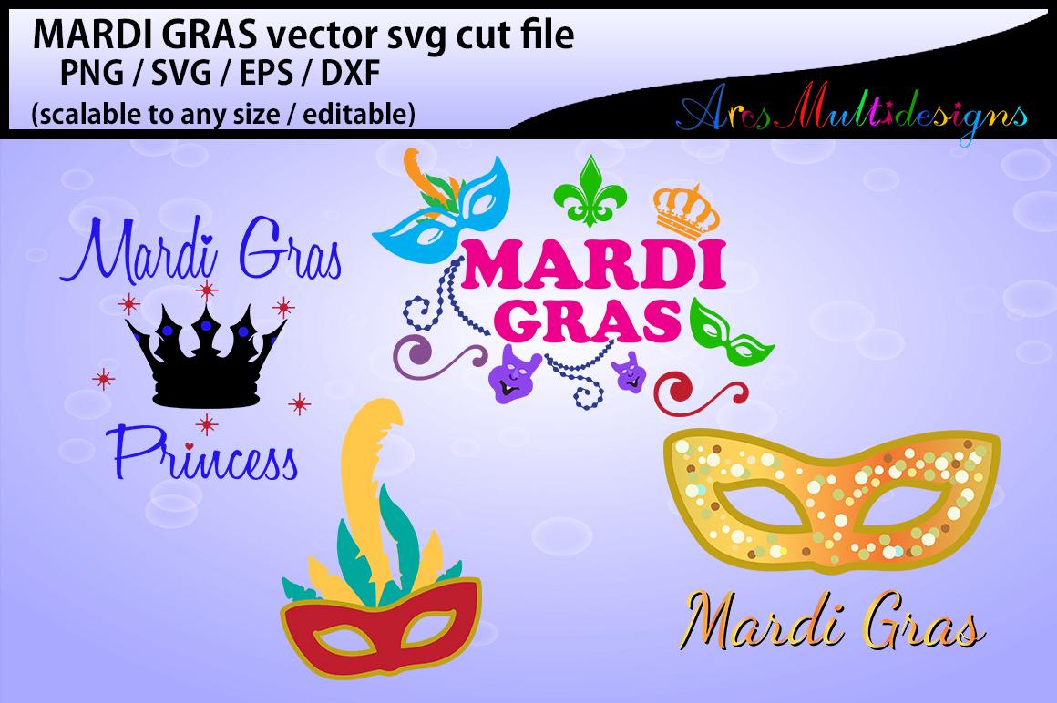 mardi gras svg silhouette / vector mardi gras / SVG  / Png/ mardi gras / silhouette / printable / clipart / DXf / EPs example image 2