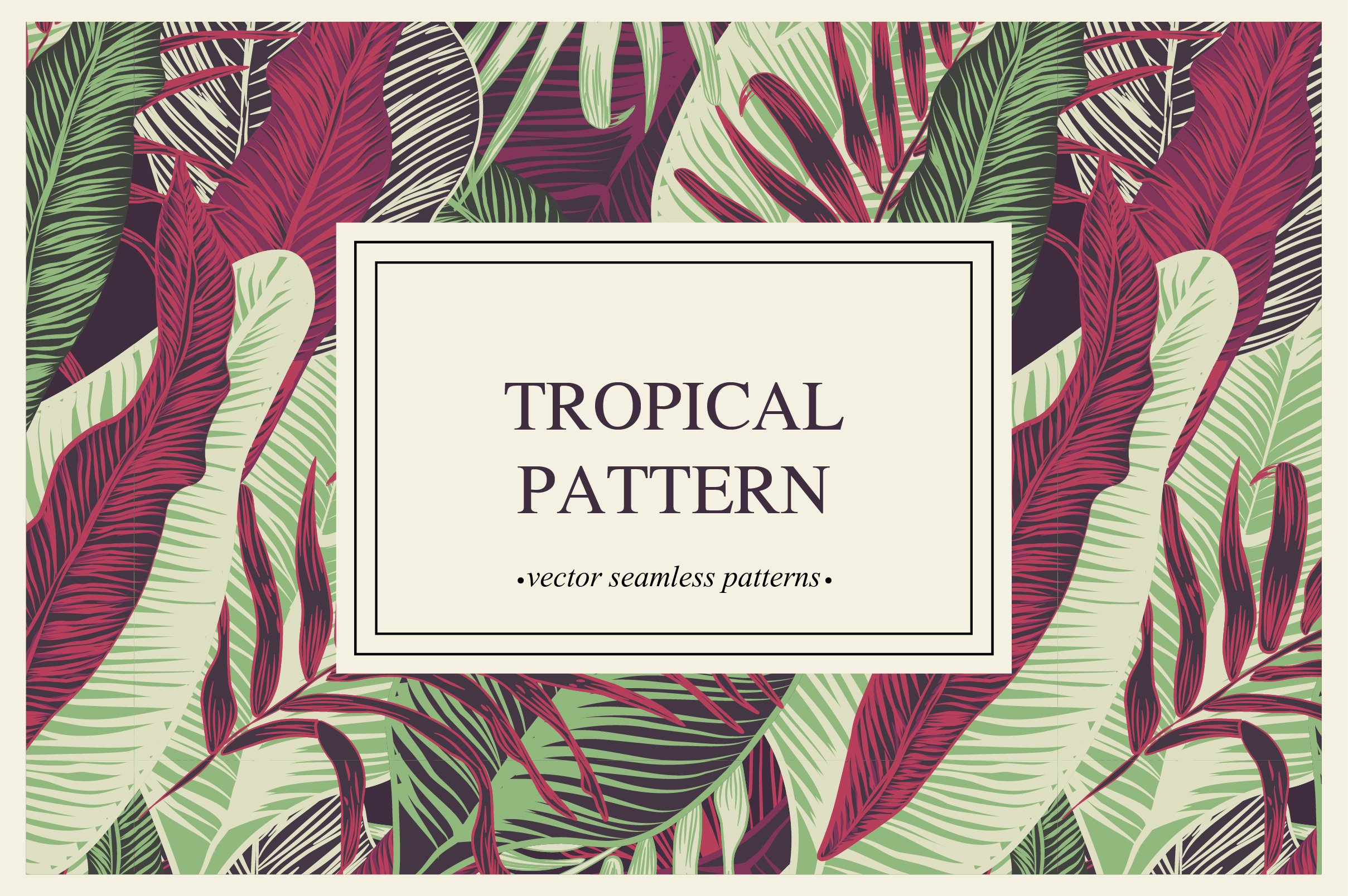 Tropical pattern example image 2