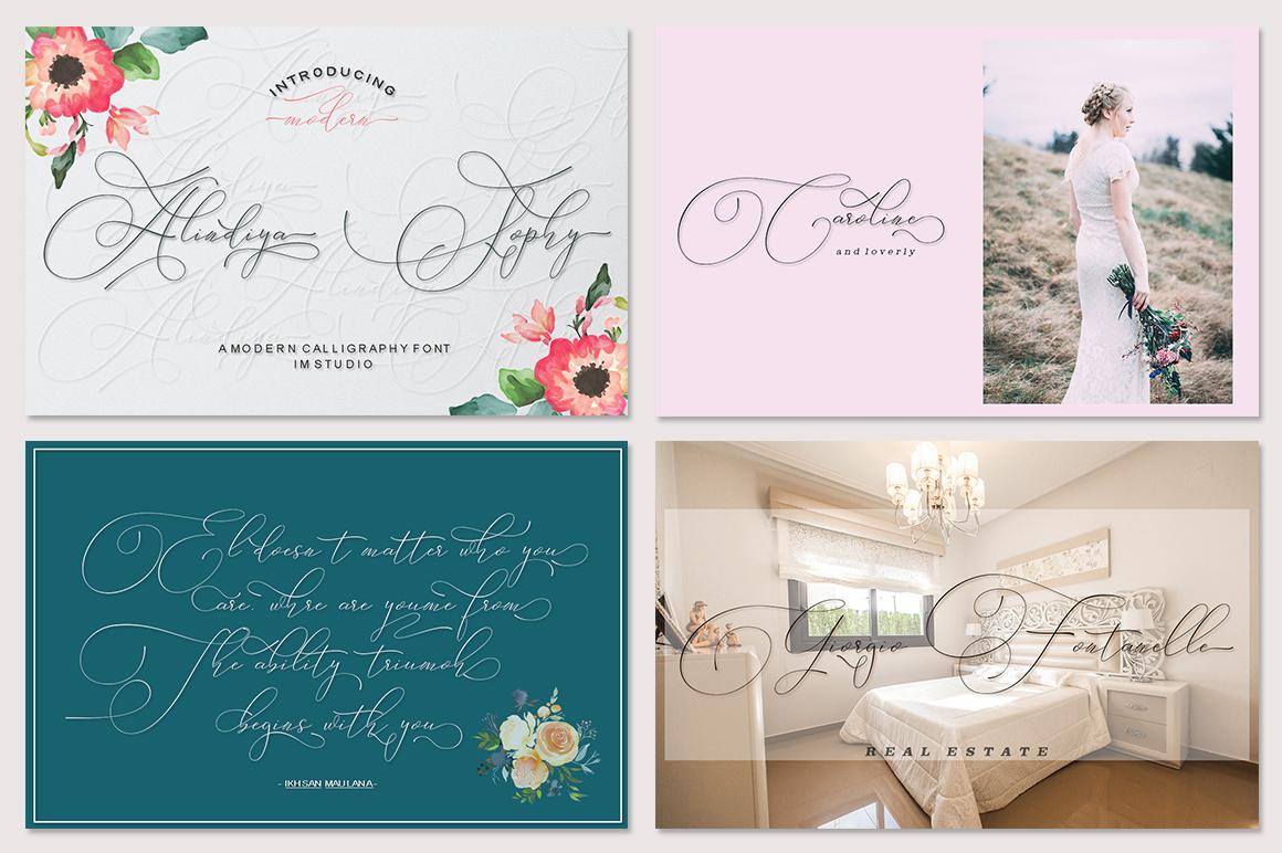 Fantastic Beautiful Bundle 10 Collection Font example image 9