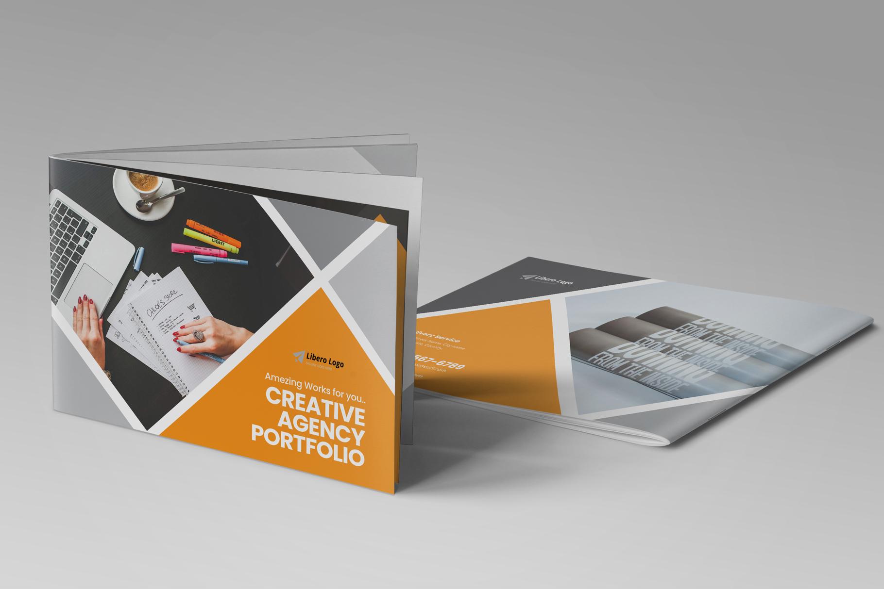 Digital Agency Portfolio Brochure v2 example image 14