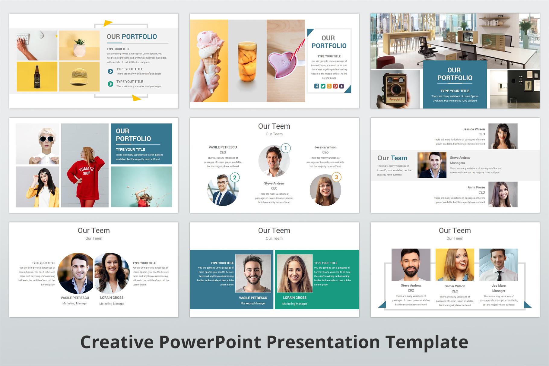 Creative multipurpose PowerPoint Presentation Template example image 6