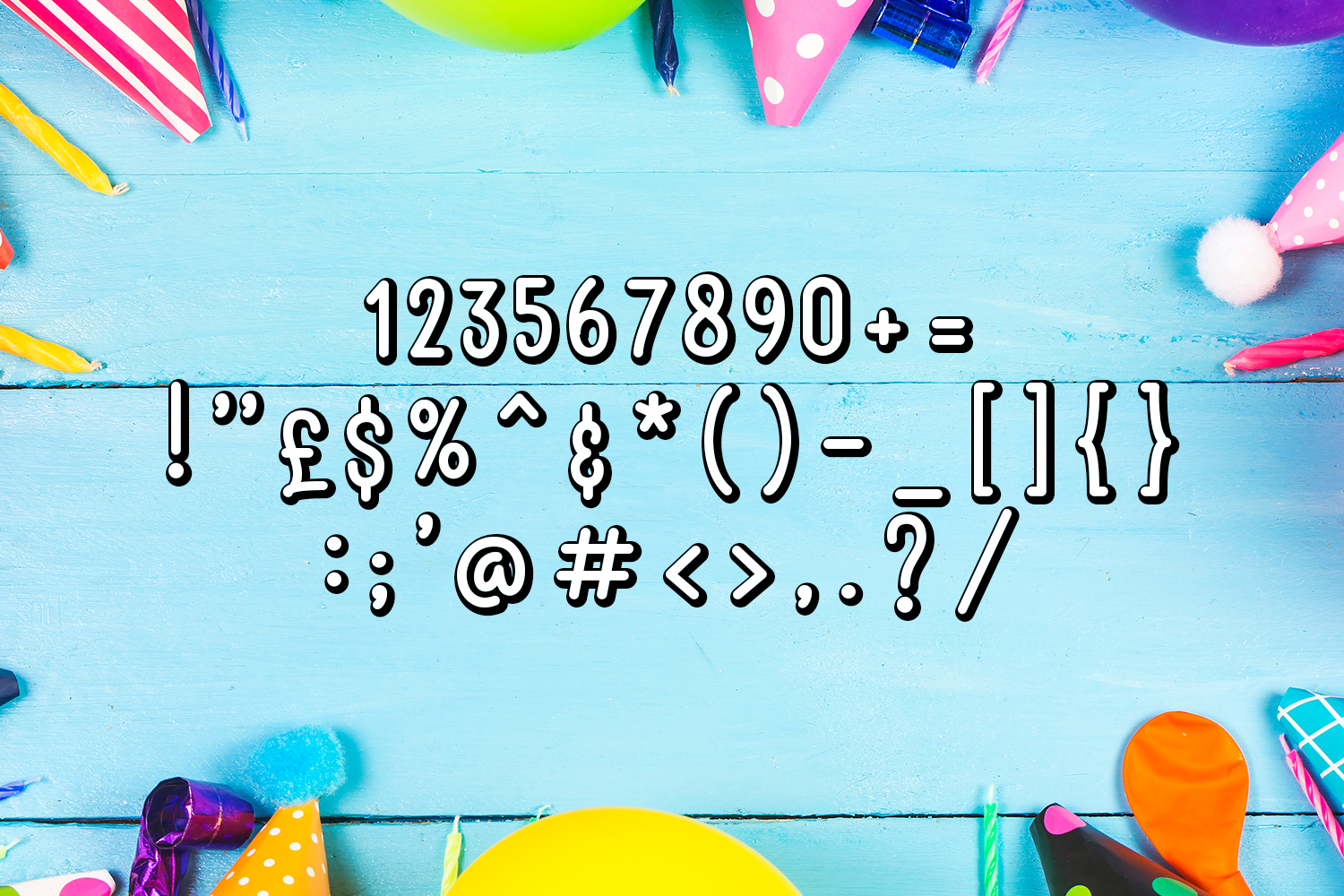 Happy Birthday Font example image 6