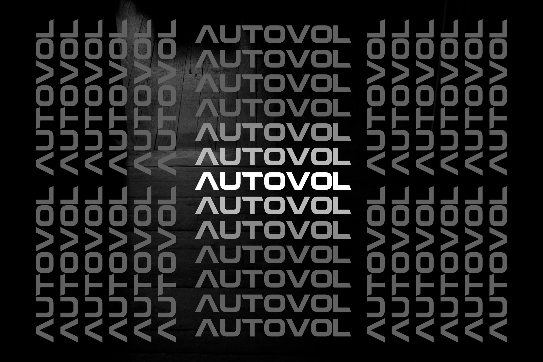 AUTOVOL - BOLD FONT example image 4