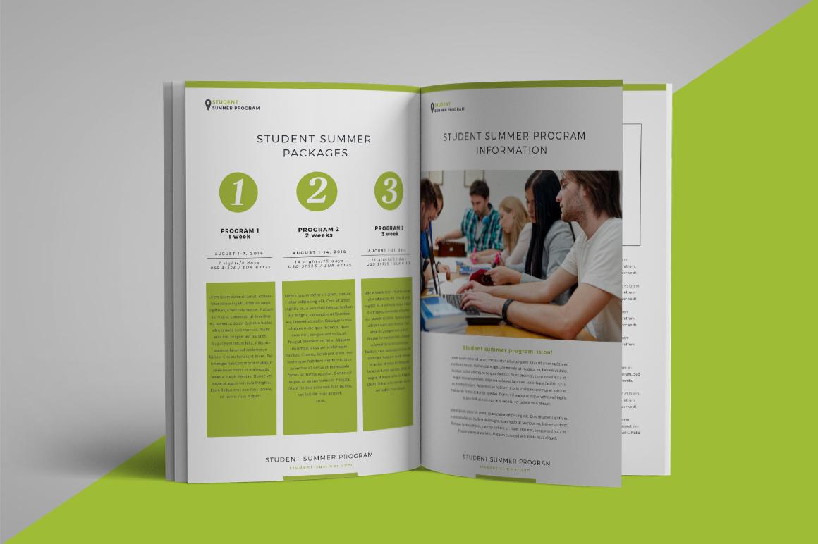 School program brochure example image 3