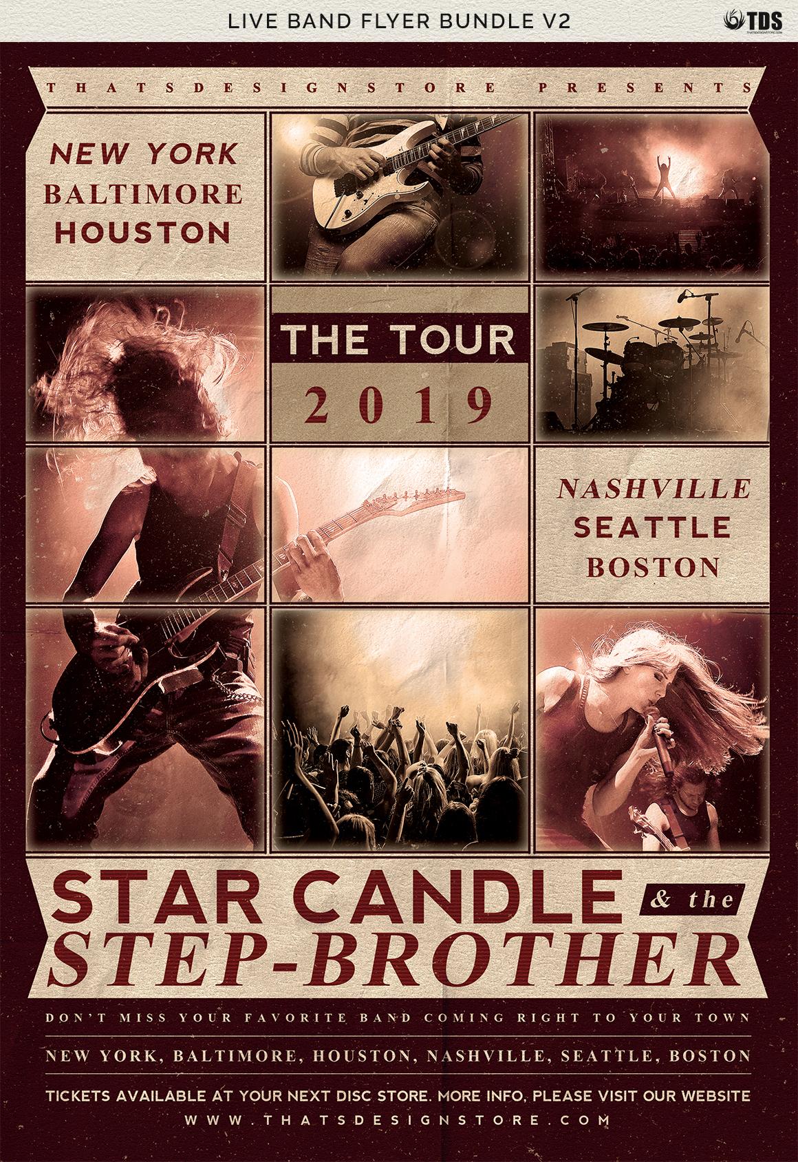 Live Band Flyer Bundle V2 example image 14