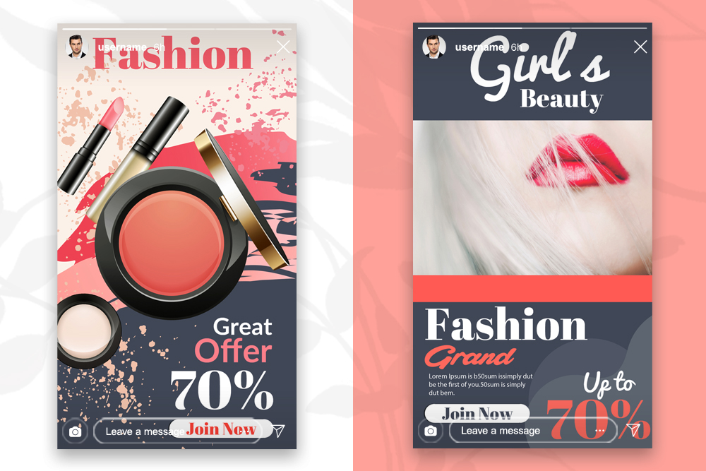 4 Instagram Stories Beauty Cosmetic example image 2