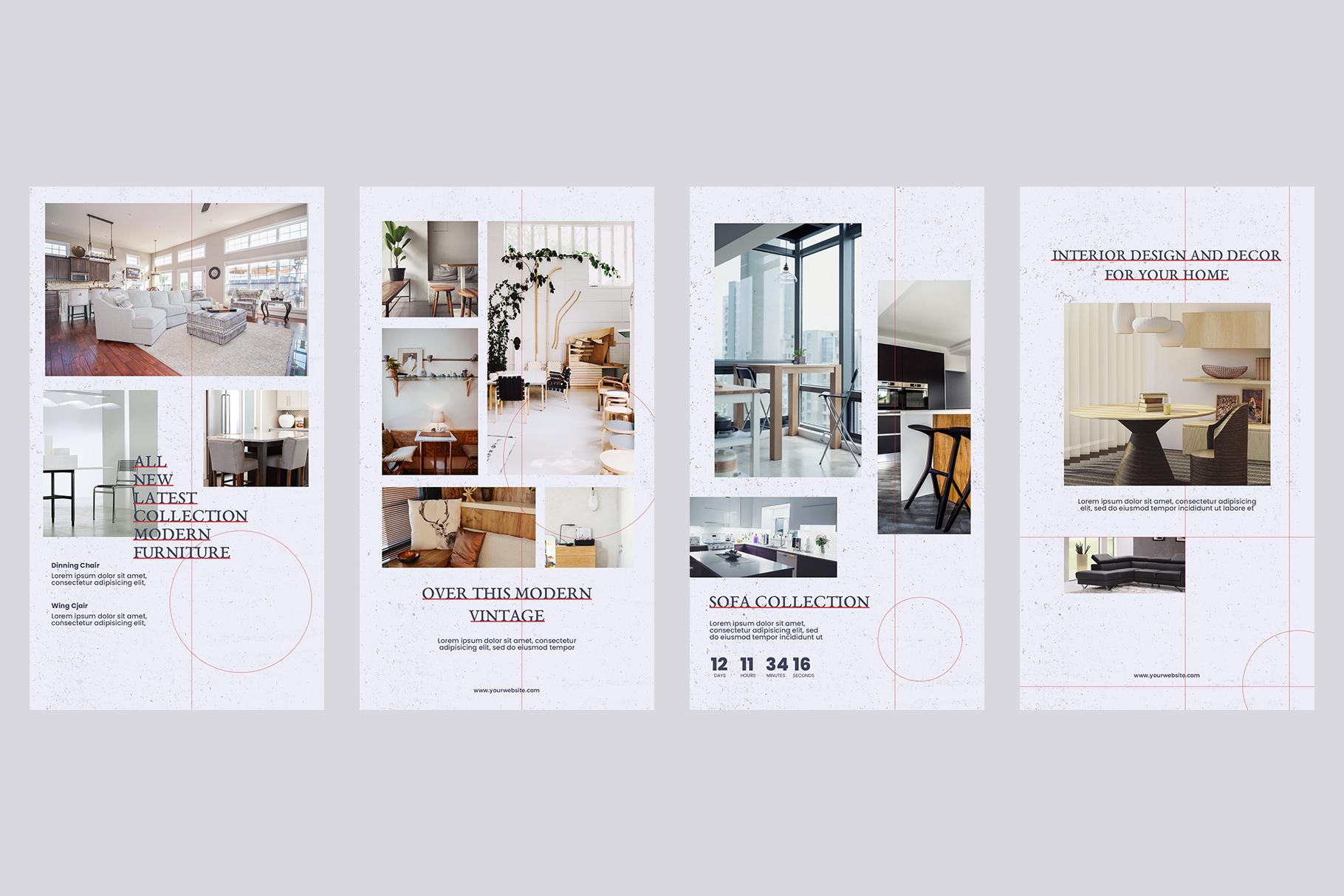Interior Instagram Templates example image 5