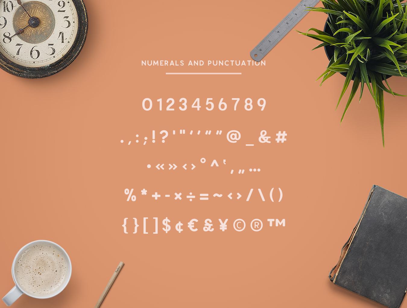 Enriq Round Sans Serif Font example image 4