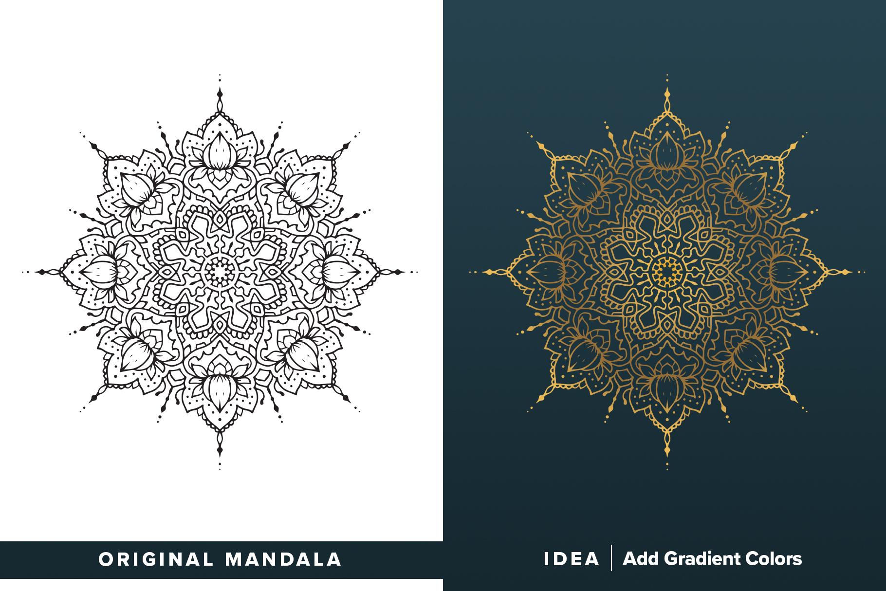 300 Vector Mandala Ornaments example image 4