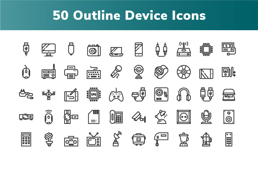 200 Device and Electronic Icon example image 2