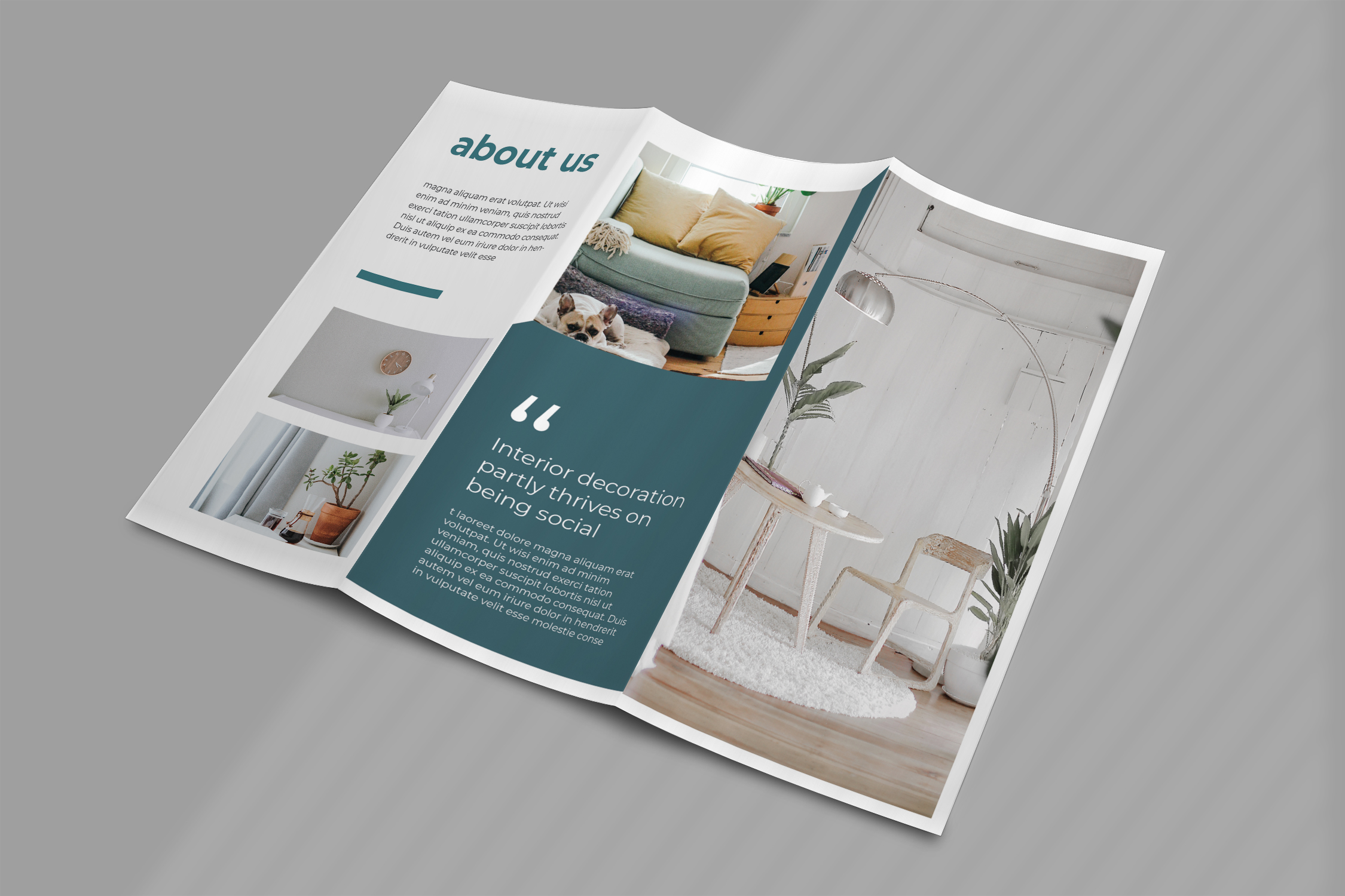 Interior Promotion Trifold Brochure example image 3