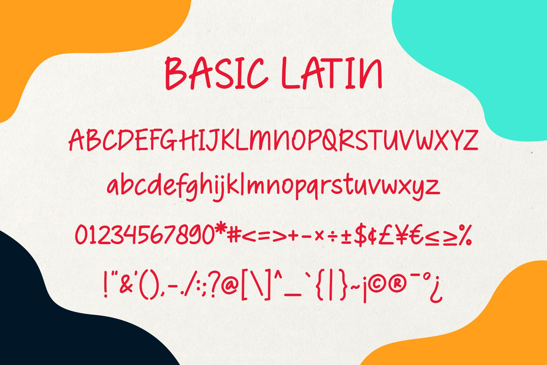 Bisakha - Fun Handwritten Typeface example image 6
