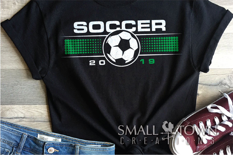 Soccer, Soccer ball, Sports team, PRINT, CUT & DESIGN example image 1