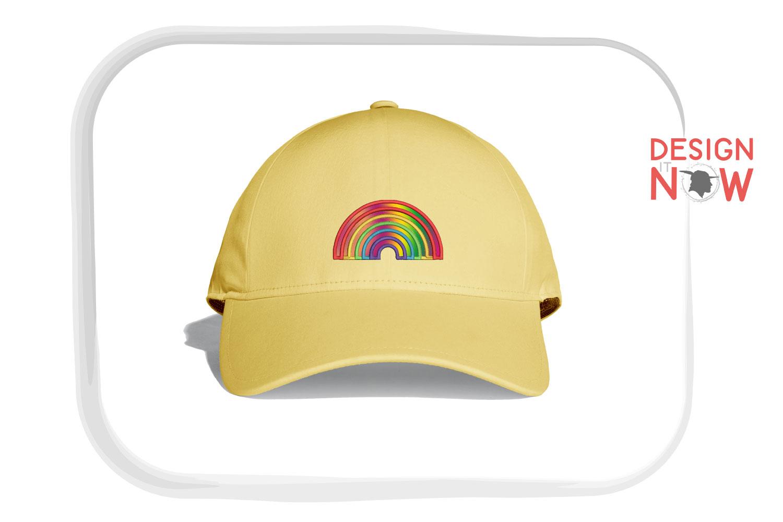 Rainbow Applique Design, Rainbow Embroidery, Pride example image 2