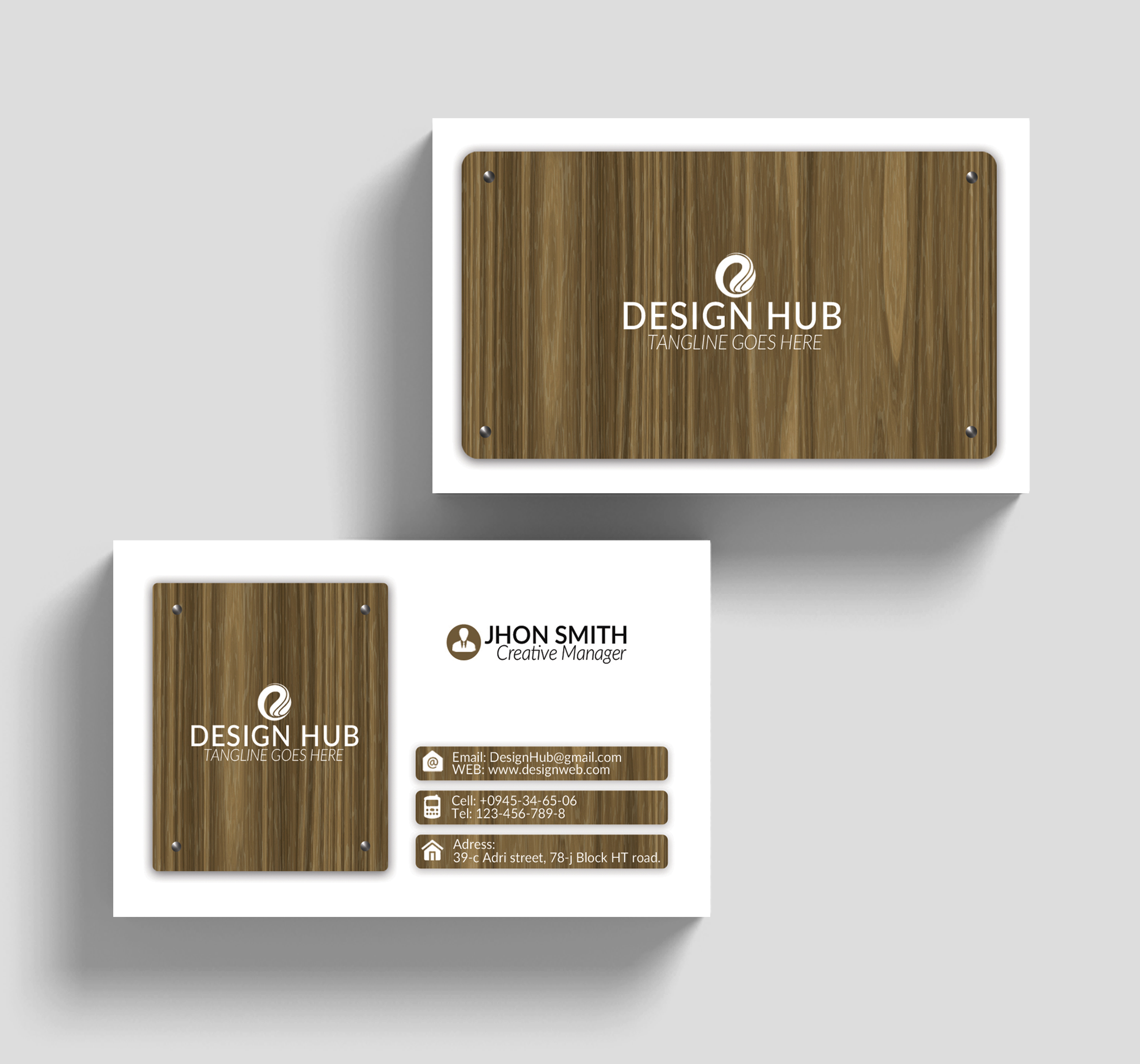 Professional Visiting Cards example image 3