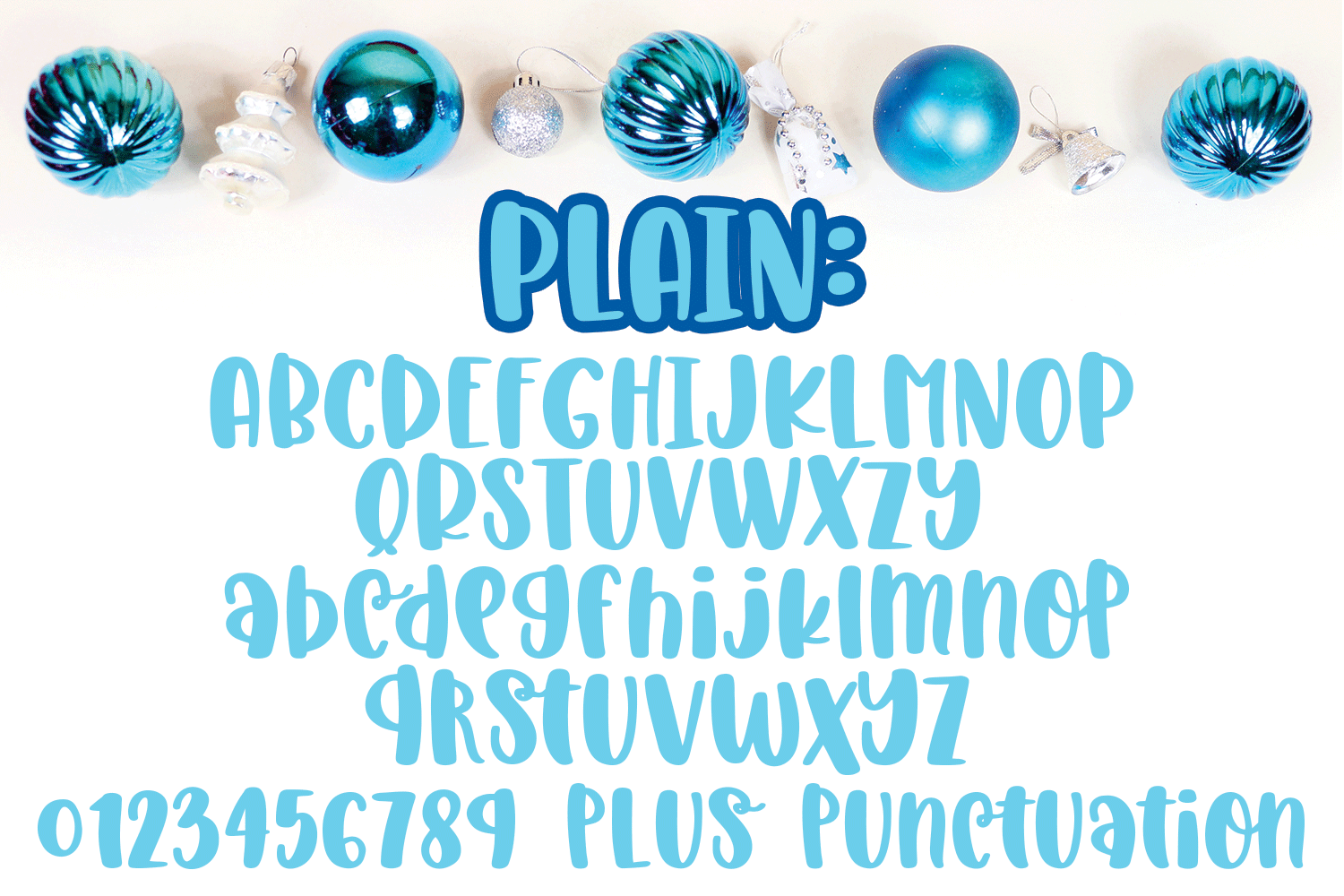 Christmas Laughter - A Holiday Hand-Written Font Trio example image 2