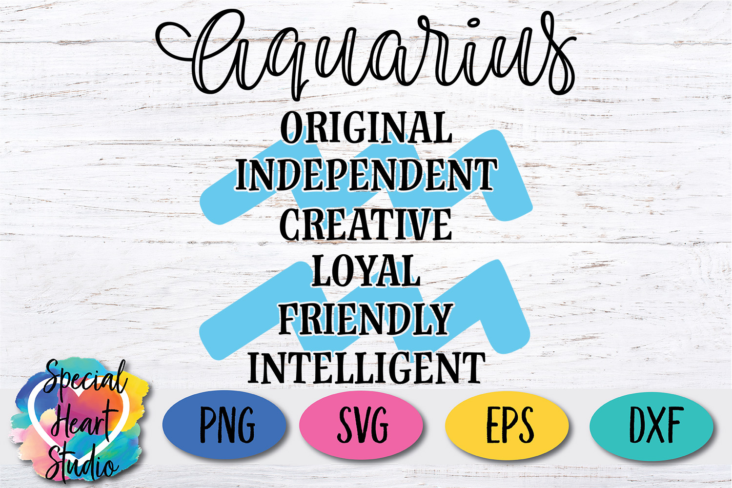 Zodiac Sign Bundle - A collection of 12 Zodiac SVG Cut Files example image 5