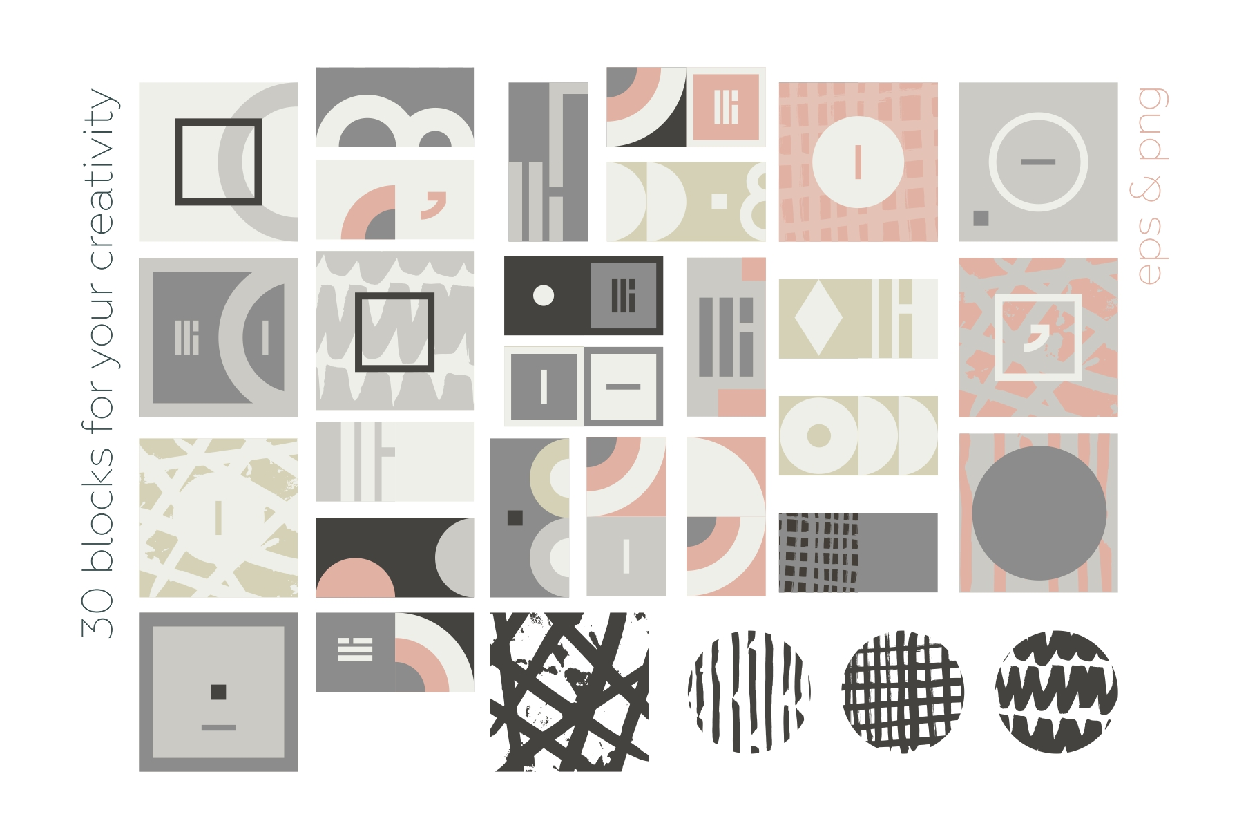 Esthetic Geometric pattern collection example image 12