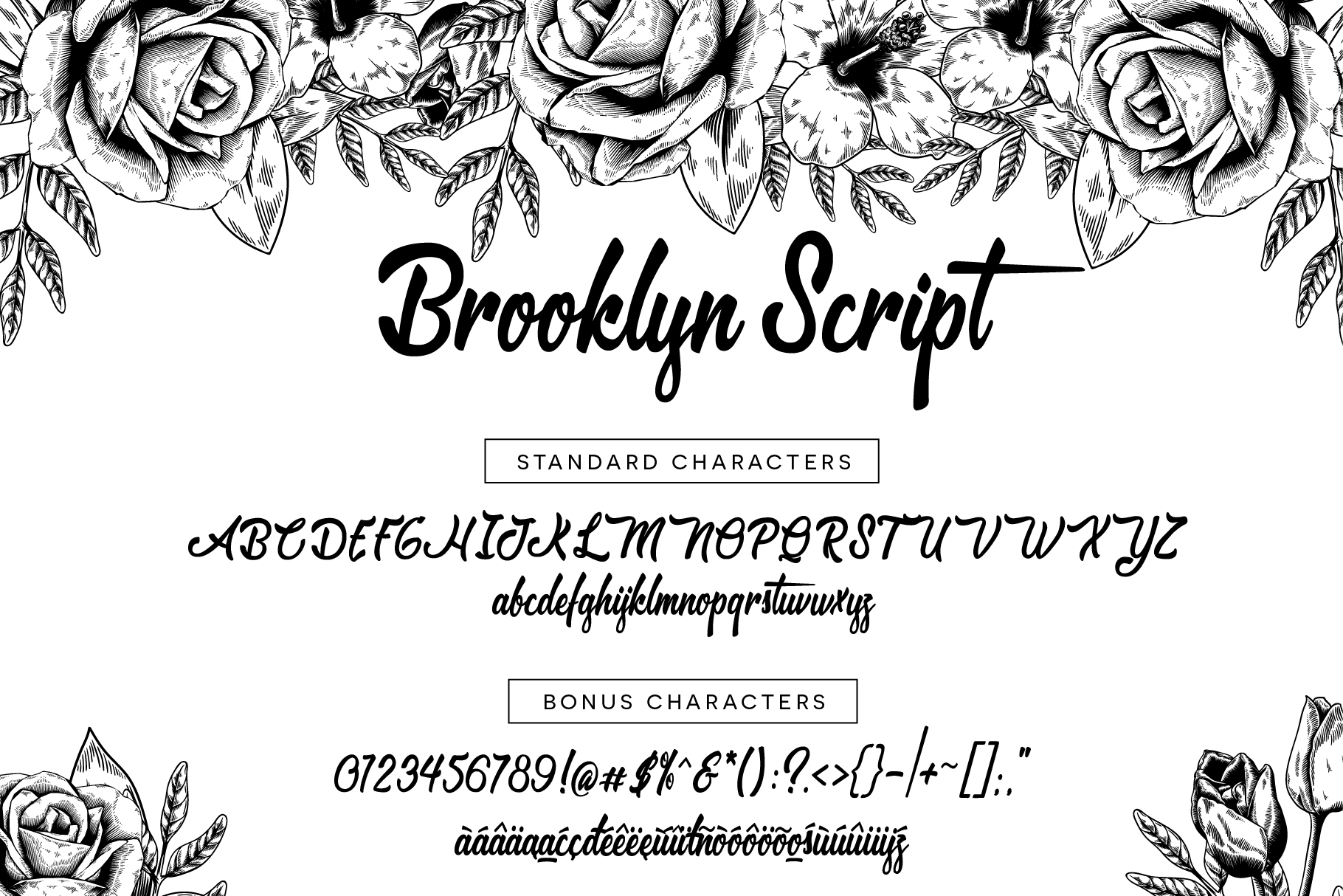 Brooklyn Script example image 5