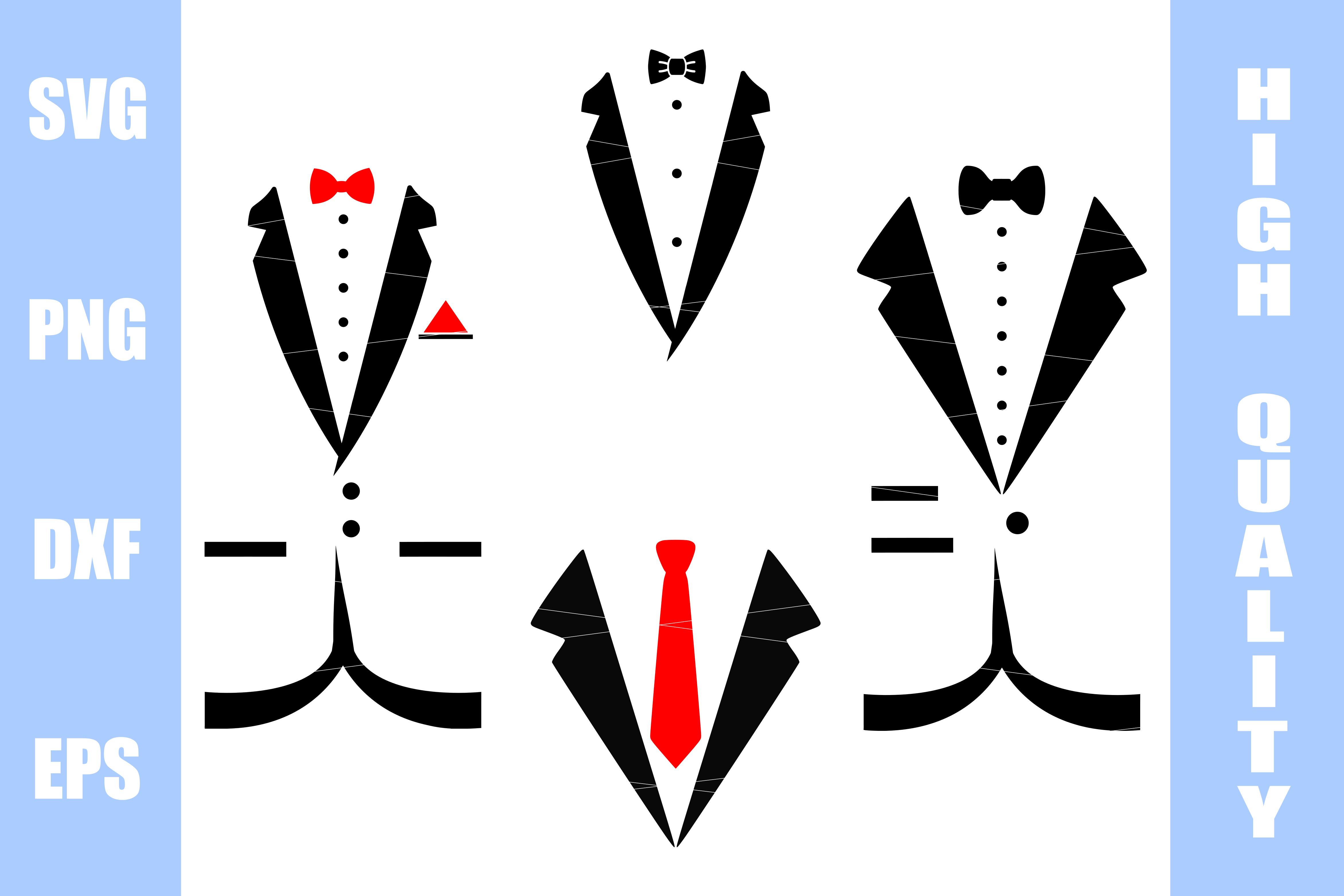 Tuxedo SVG Bundle example image 1