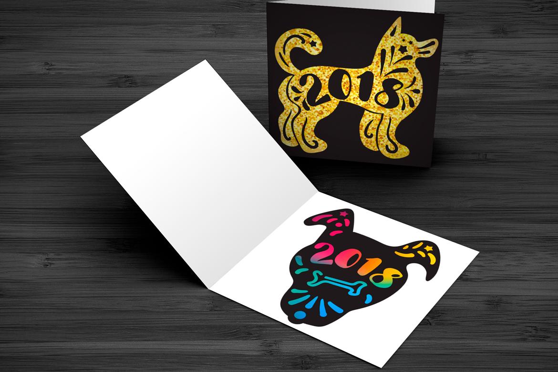 2018 New Year Symbols Set example image 3