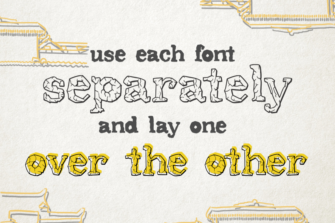 Stonehill Duo Font. example image 3