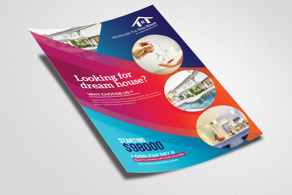 Real Estate Flyer Template example image 2