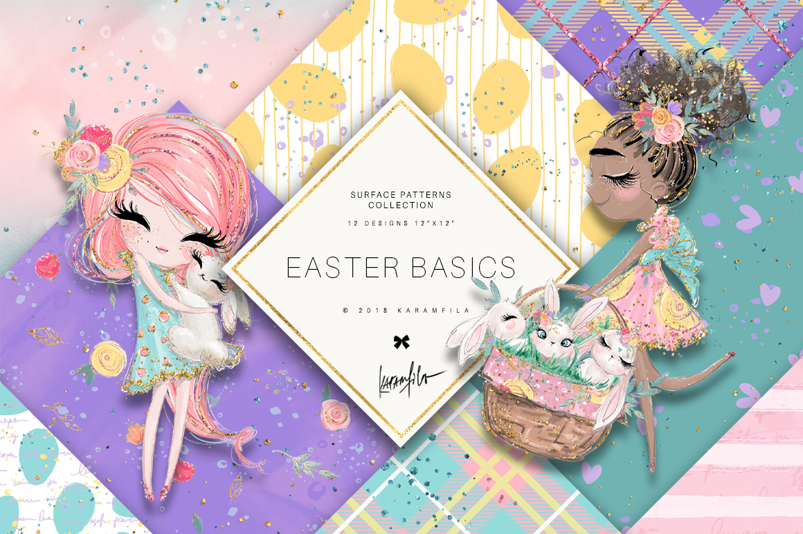 Easter Patterns example image 1