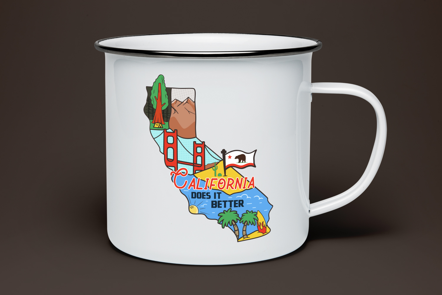 California State Badge / Vintage US T-Shirt American SVG Cut example image 4
