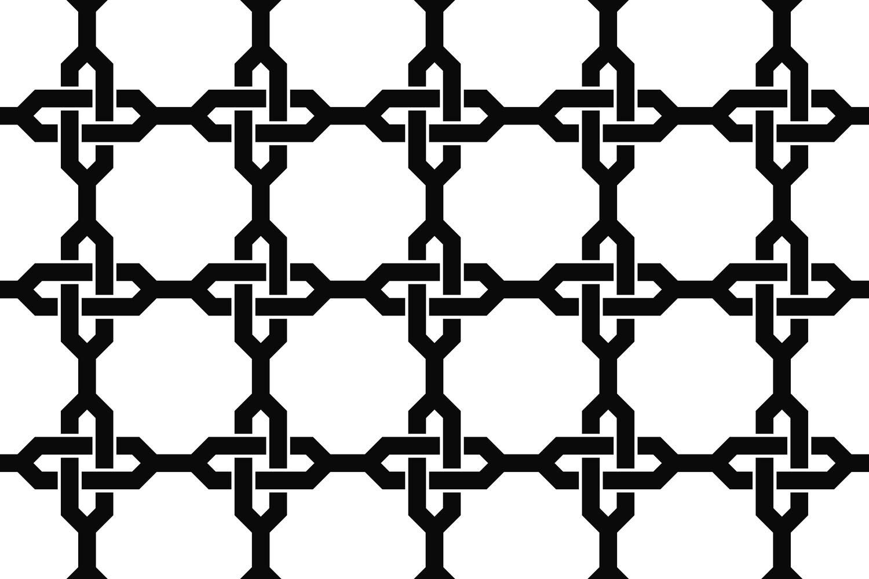 15 seamless grid patterns EPS, AI, SVG, JPG 5000x5000 example image 3