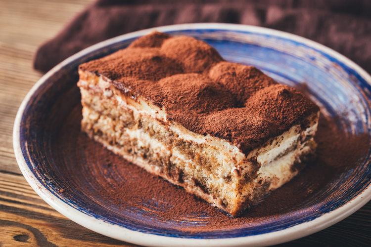 Portion of Tiramisu dessert example image 1