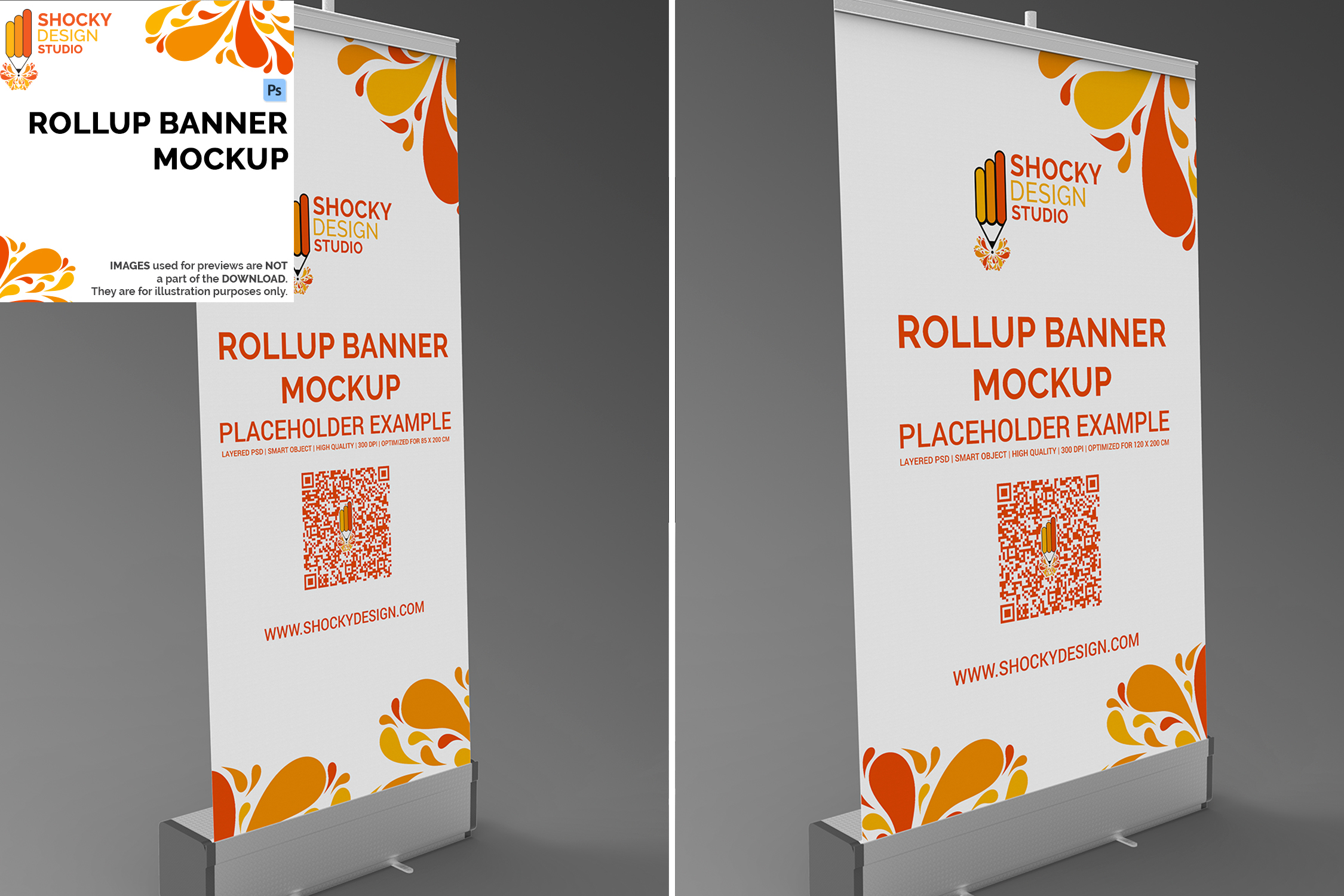 Rollup Banner Mockup example image 1