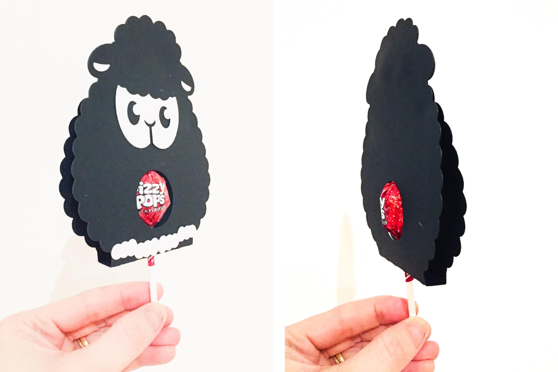 lollipop holder designs. Lamb, Rabbit, Duck and Penguin example image 9