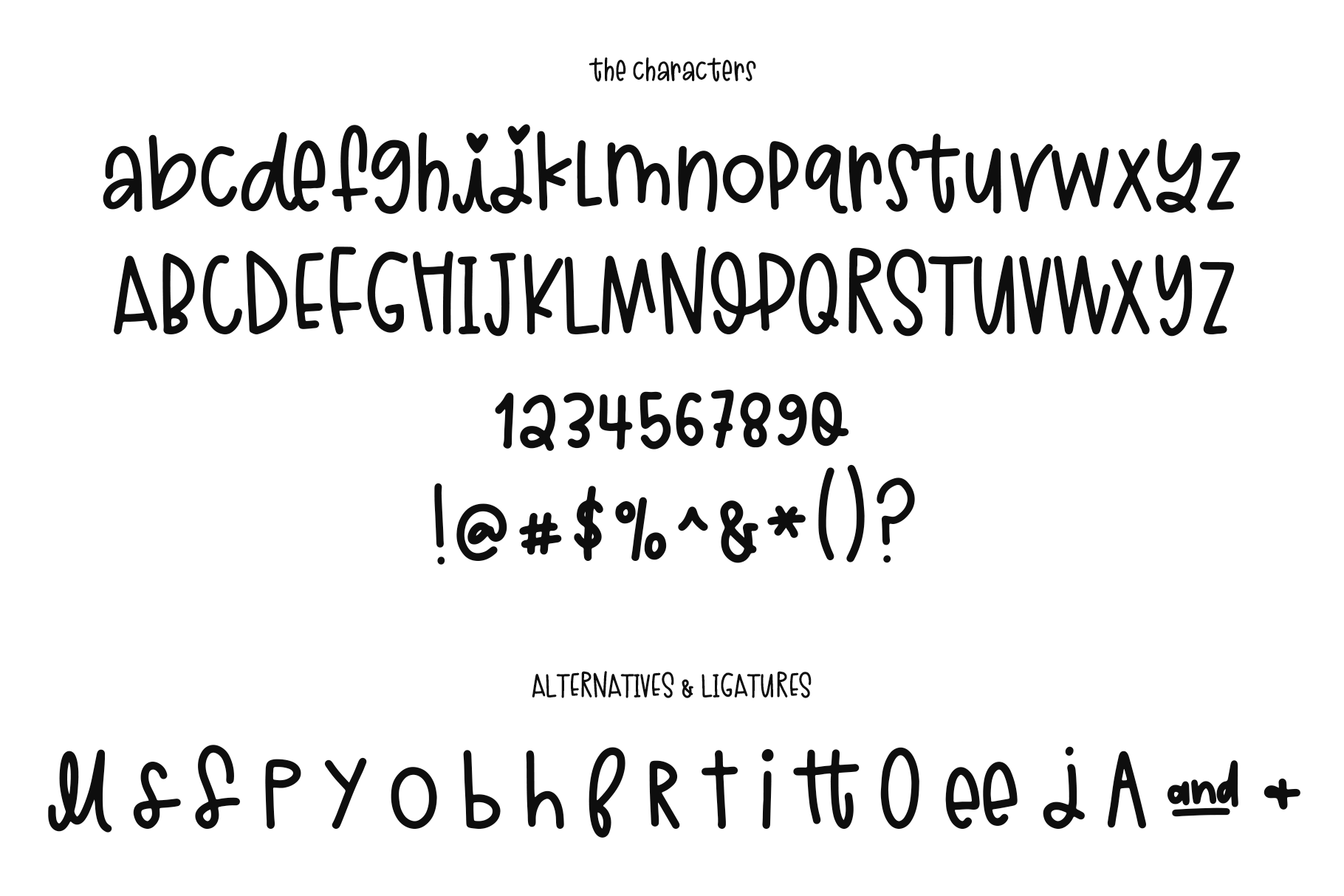 Sugar and Lime - A Fun Font with Doodles! example image 17