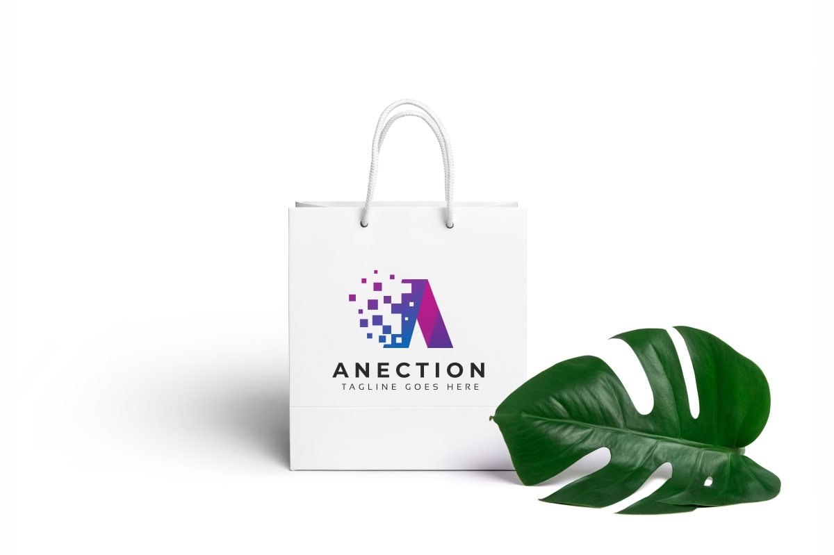 Anection A Letter Logo example image 5