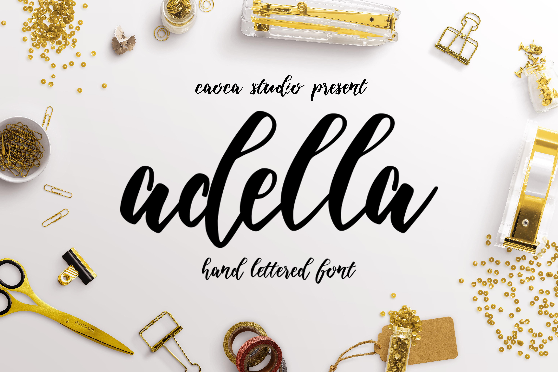 Adella Handlettered example image 1