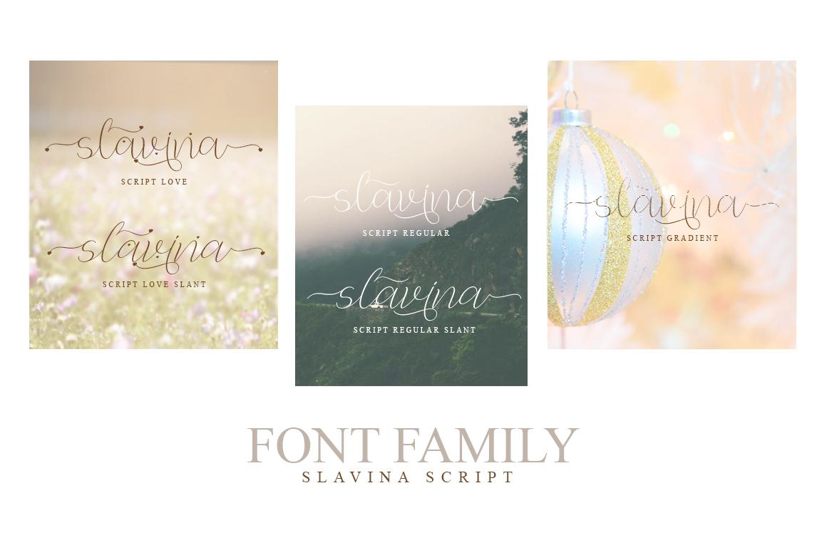 Slavina Script example image 9