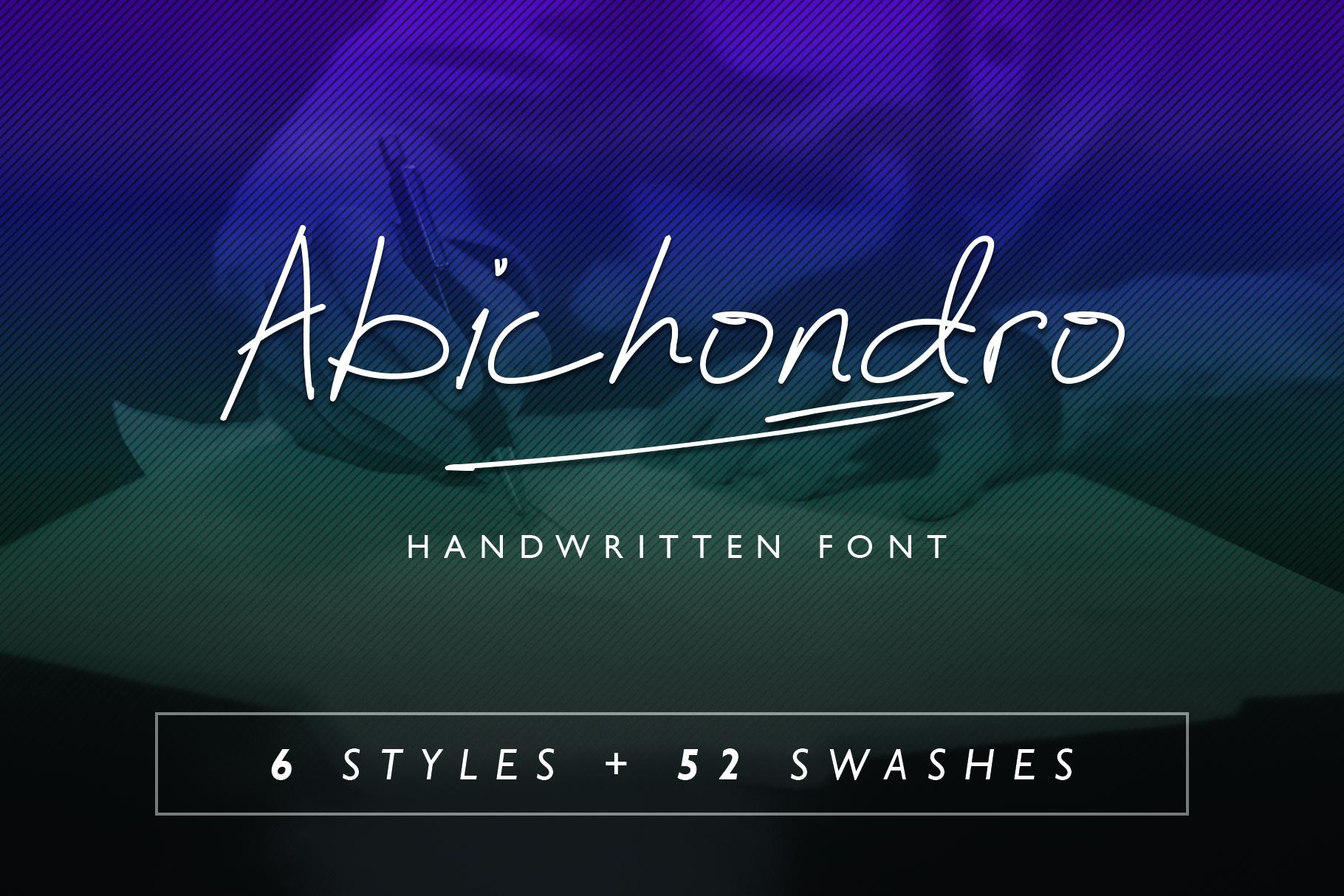 Abichondro Signature - Intro Sale example image 1