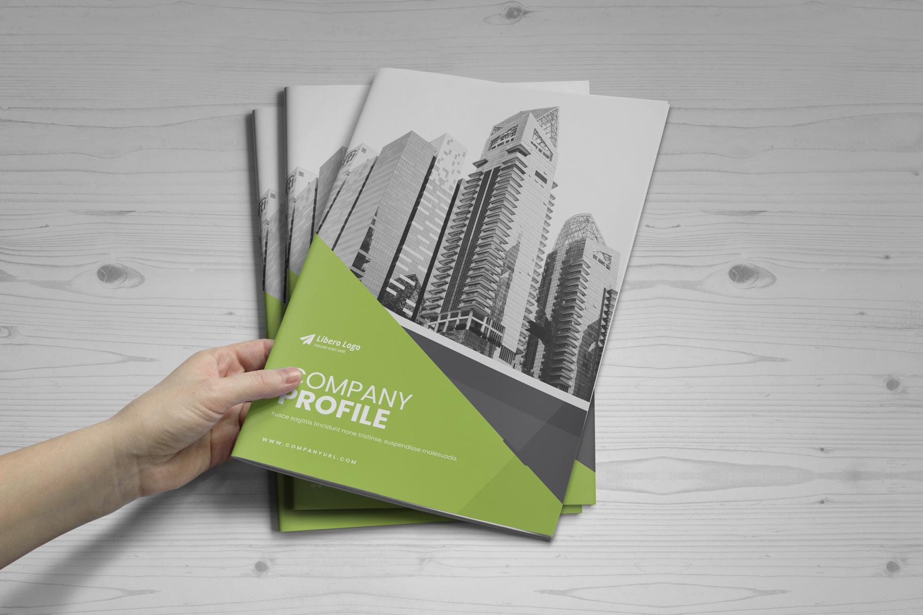 Company Profile Brochure v10 example image 15
