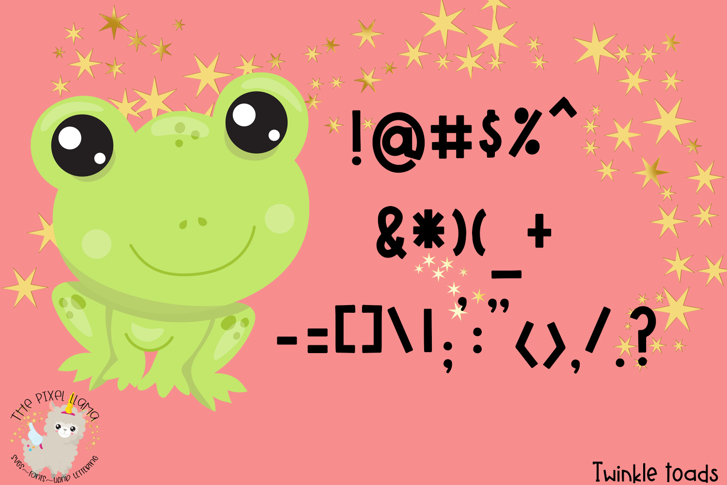 Twinkle Toads Font example image 5