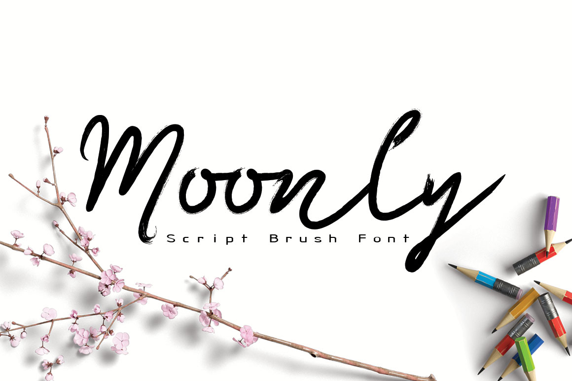 Moonly Typeface example image 1