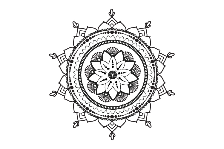 Mandalas. Round forms. example image 15