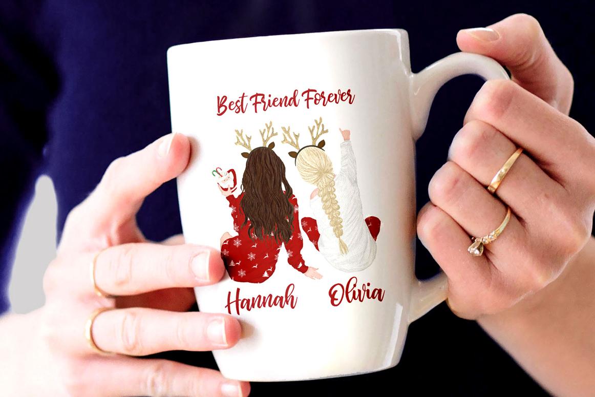Christmas clipart, Girls Clipart, Planner Girls,Custom Girls example image 2