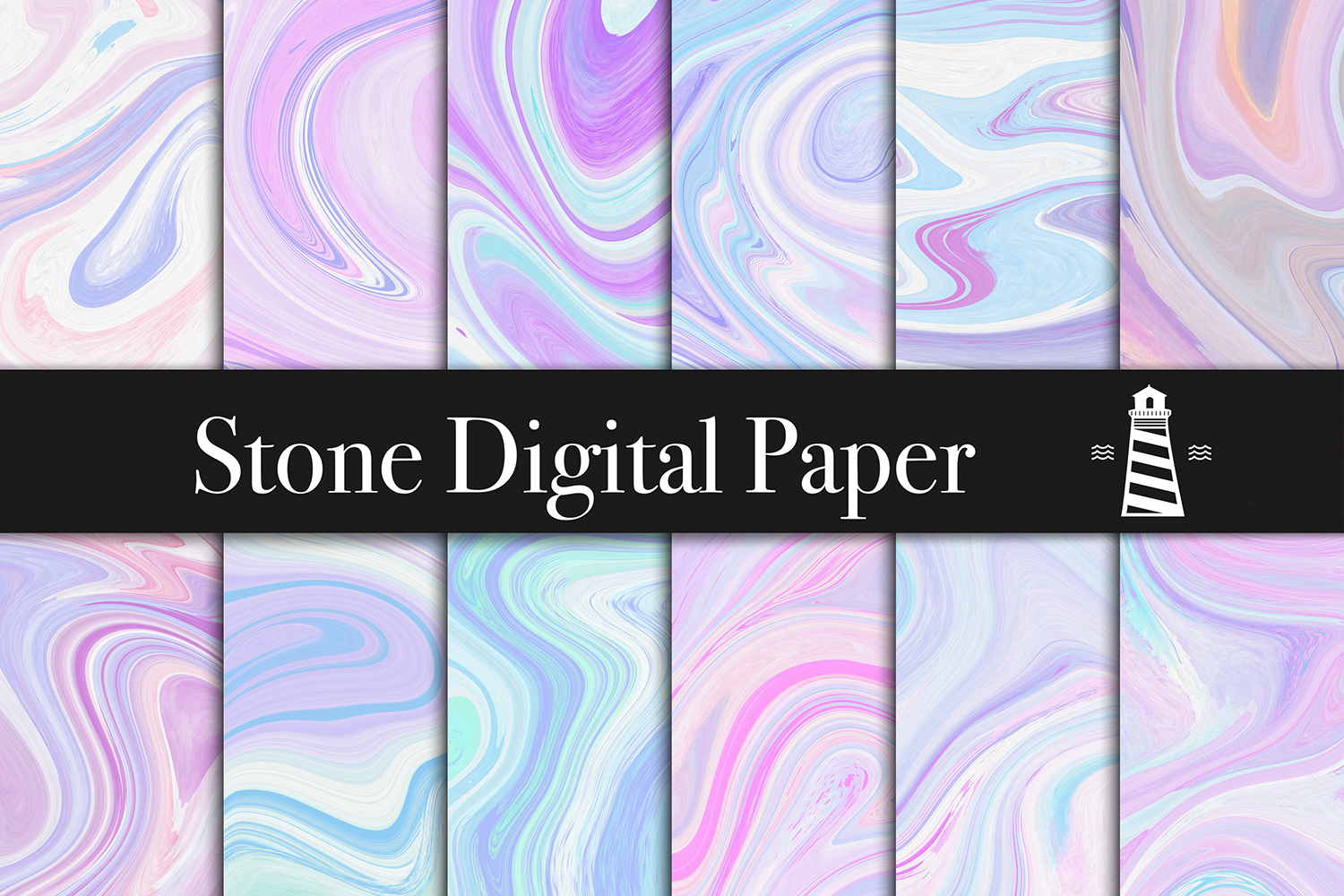 Agate Textures - Wedding Backgrounds example image 4