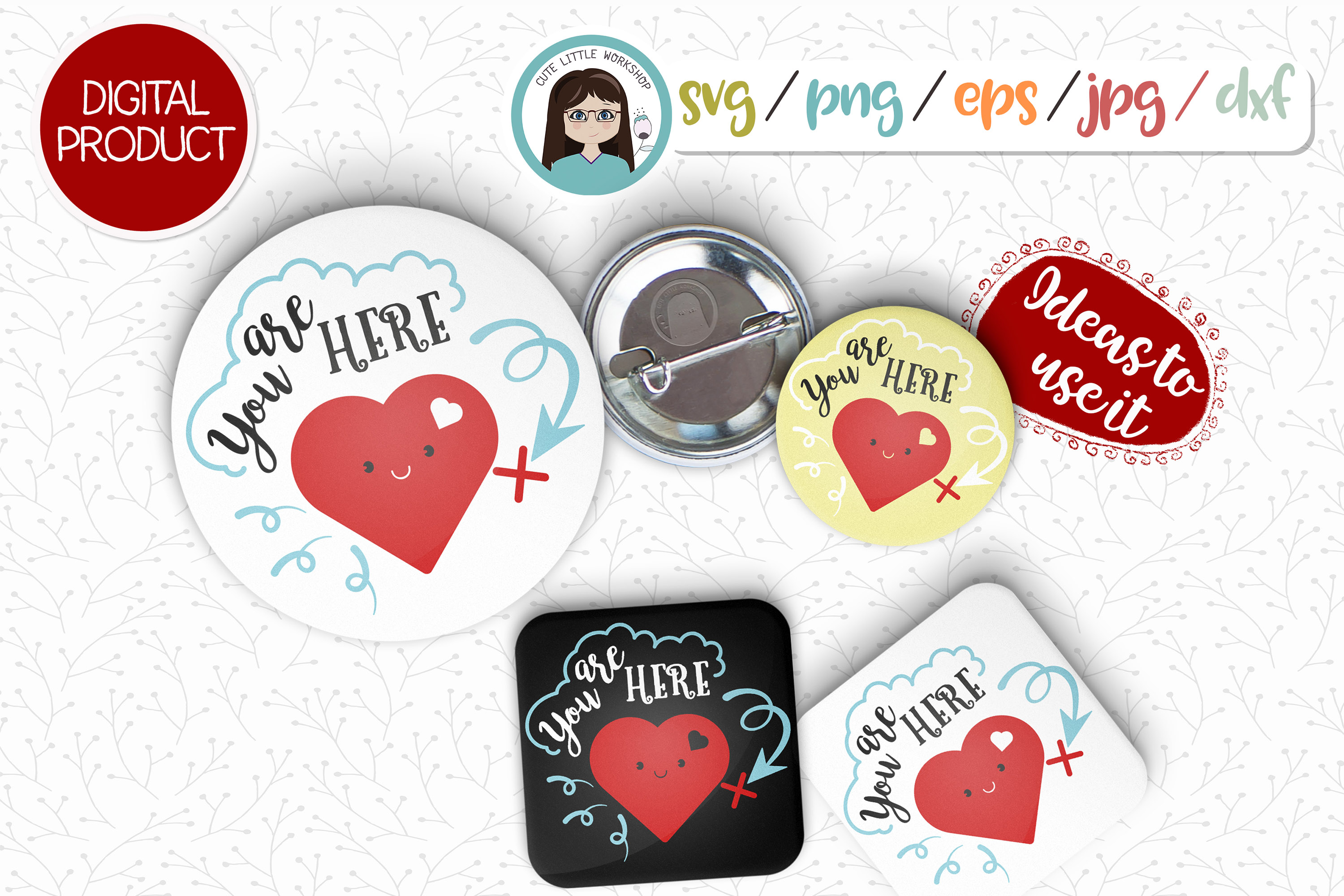 LOVE, Valentines svg, dxf, png, eps example image 2